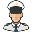 Avatar of naval officers asian male