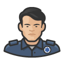 Avatar of ems worker asian male