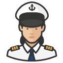 Avatar of naval officers asian female