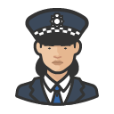 Avatar of police officer scotland yard asian woman