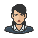 Avatar of business casual asian female