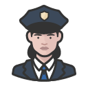 Avatar of police officers white female