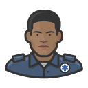 Avatar of ems worker black male