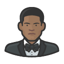 Avatar of formal black male
