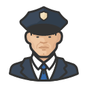 Avatar of police officers asian male