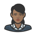 Avatar of business casual black female
