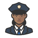 Avatar of police officers black female