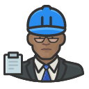 Avatar of building inspector black male