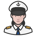 Avatar of naval officers white female