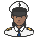 Avatar of naval officers black female